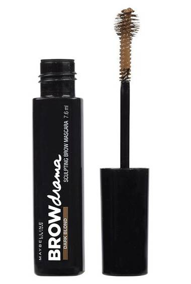 Sculpting Brow Mascara with brow drama