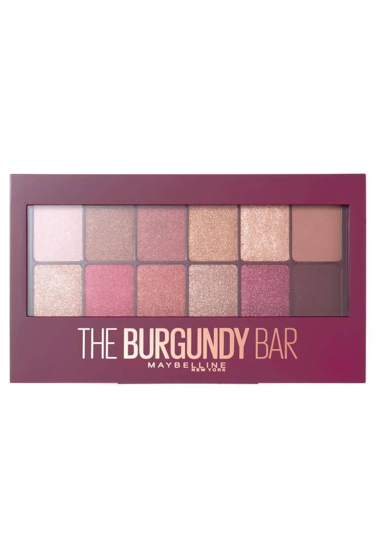 The Burgundy Bar Eyeshadow Palette Maybelline
