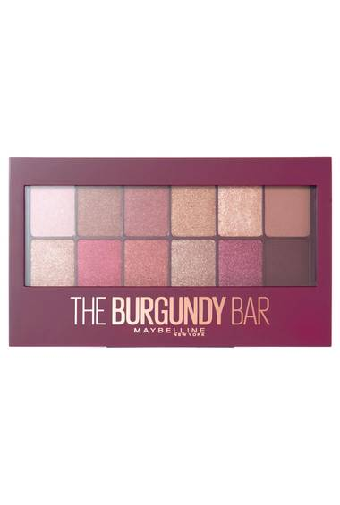 Burgundy Pallete- The Burgundy Bar Eye Palette
