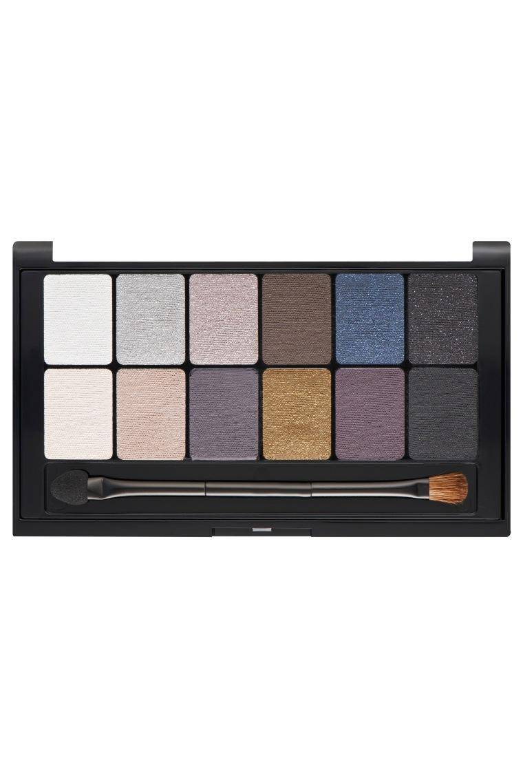 The Rock Nudes Palette for a smokey bold look