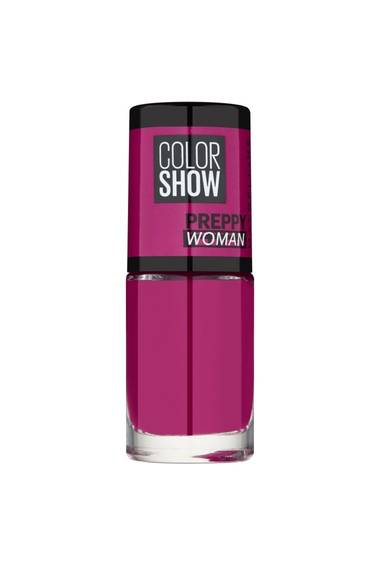 Magenta Nail Polish - Color Show Preppy Woman