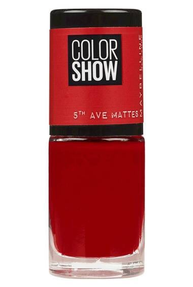 Color Show Nail Varnish in Wine At 5