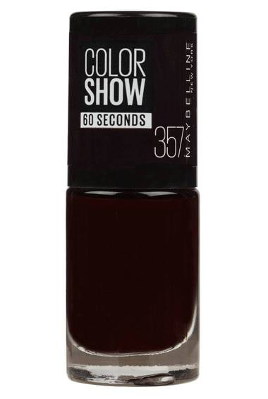 Color Show in Burgundy Kiss