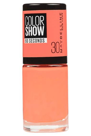 Color Show Nail Polish in Fire Island