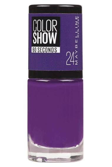 Color Show Nail Polish in Very Violet