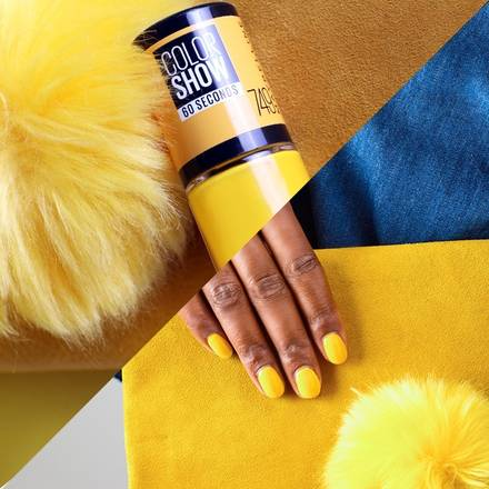 Colorshow yellow nail polish