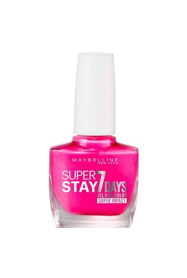 Fucshia Nail Polish Gel - Superstay 7 Days